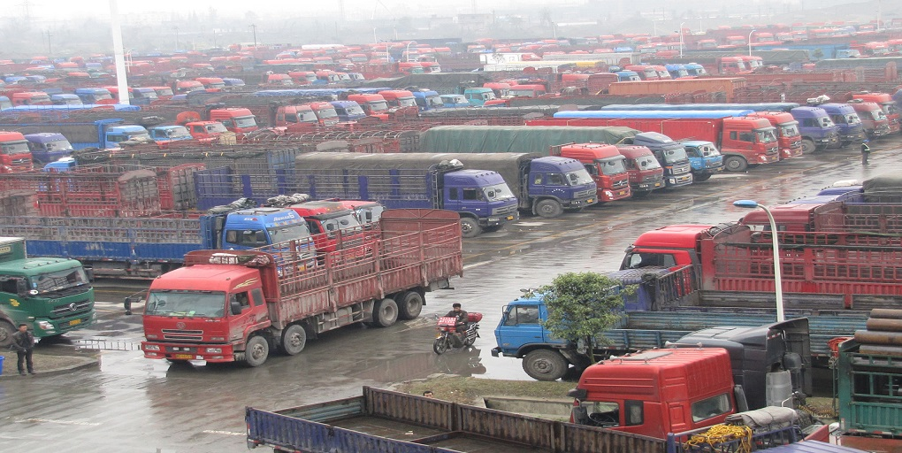 Chinese Trucking slowly resumes amid COVID-19 Outbreak.
