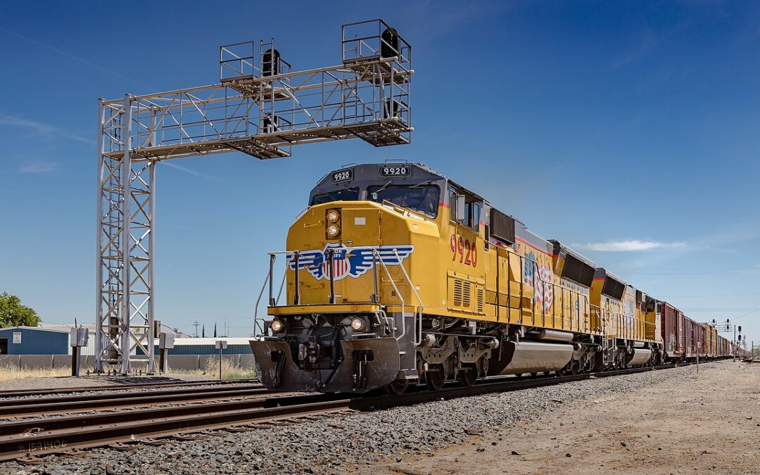 Union Pacific Railroad was Closed for 72 Hours